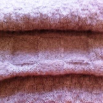 Mohair und Seide – Luxusstola leicht und kuschelig warm