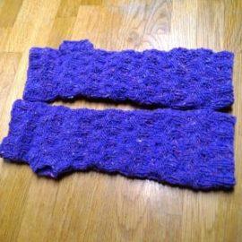 Tweed Handstulpen