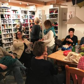 17. Januar 2019 Stricktreff II – 14-tägig donnerstagsnachmittags von 15 -18 Uhr