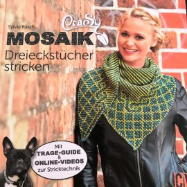 Mosaik-Tücher mit Hebemaschen
