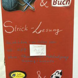 24. Januar 2018 ab 18 Uhr: Strick-Lesung in KöB St. Heinrich und Kunigunde