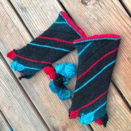 Frische-Fische Handstulpen passend zum Leftie-Schal