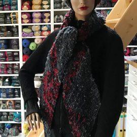 Ganz schön auf Zack – Blickfang-Schal