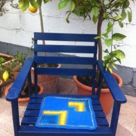 Patchwork – Sitzunterlage
