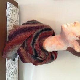 Drachenschwanz-Schal