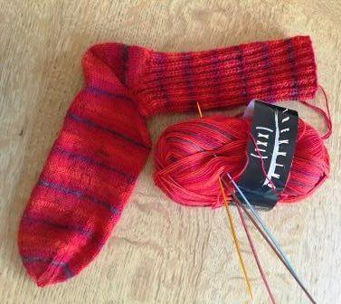 """Socken """"Farbenfroh"""" Trekking XXL"""
