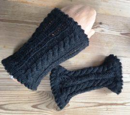 Handstulpen aus Strumpfwolle