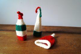 Wichtelmützchen für kleine Geschenke und Weihnachten als Eierwärmer zu verwenden