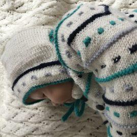 Babypullover Gr. 56-62 Jonte
