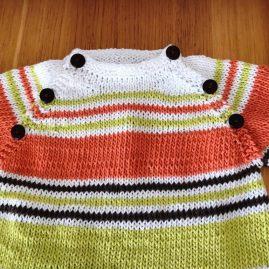 """""""Echt"""" Babypullover aus Bio-Baumwolle"""