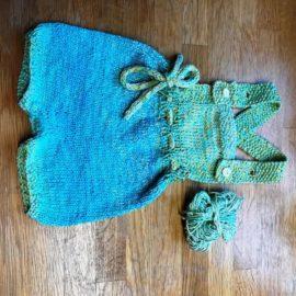 Baby-Sommerhöschen aus dem Buch Klompelompe