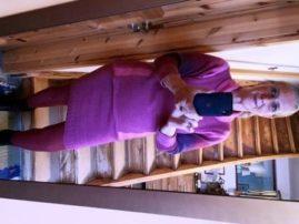 Royal-Alpaca-Minirock passend zum Singolo-Alpaca-Vergnügen-Pullover
