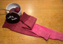Overknees aus Singolo – passend zu Pullover und Rock