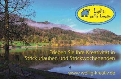 Frühlings-Strickwoche im Haus Seegarten am Schliersee vom 20. bis 27. März 2021