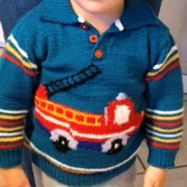 """""""Ta-Tü-Ta-Pullover"""" (so hat mein Enkel ihn getauft)"""
