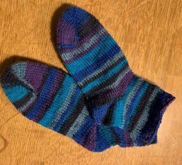 Anti-Rutsch-Socken 4-fädig, Gr. 22-23