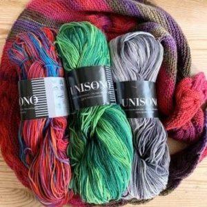 Atelier Zitron Unisono – 100 g Strang – Schnäppchenfarben