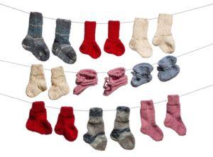 Klassische Sockenwolle