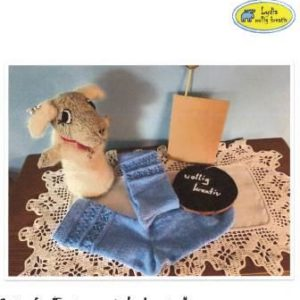 Toe to up-Socken mit Lochmuster