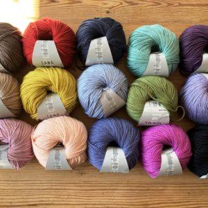 Lang Yarns Norma Wollpakete mit 50 g Knäuel – Schnäppchenfarben