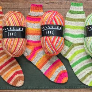 Atelier Zitron Trekking XXL Sockengarn 100 g Knäuel  –  neue Farben