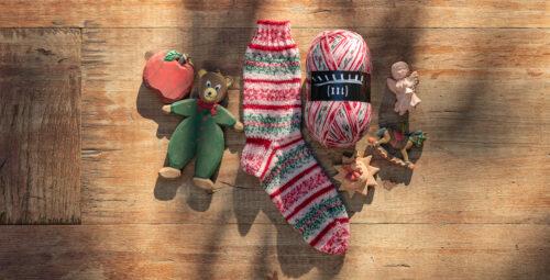 Atelier Zitron Trekking Weihnachtsedition XXL Sockengarn 100 g Knäuel